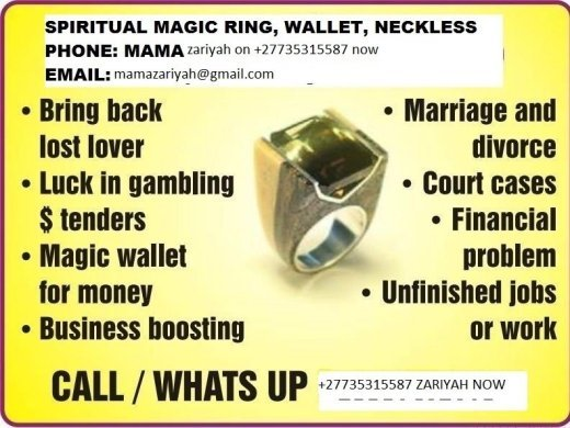 Lost love spells caster +27735315587 call mama zariyah USA